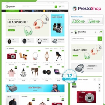 Boomshop - The MultiStore PrestaShop Theme