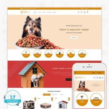 Cute Pet - The Specials Pet PrestaShop Theme