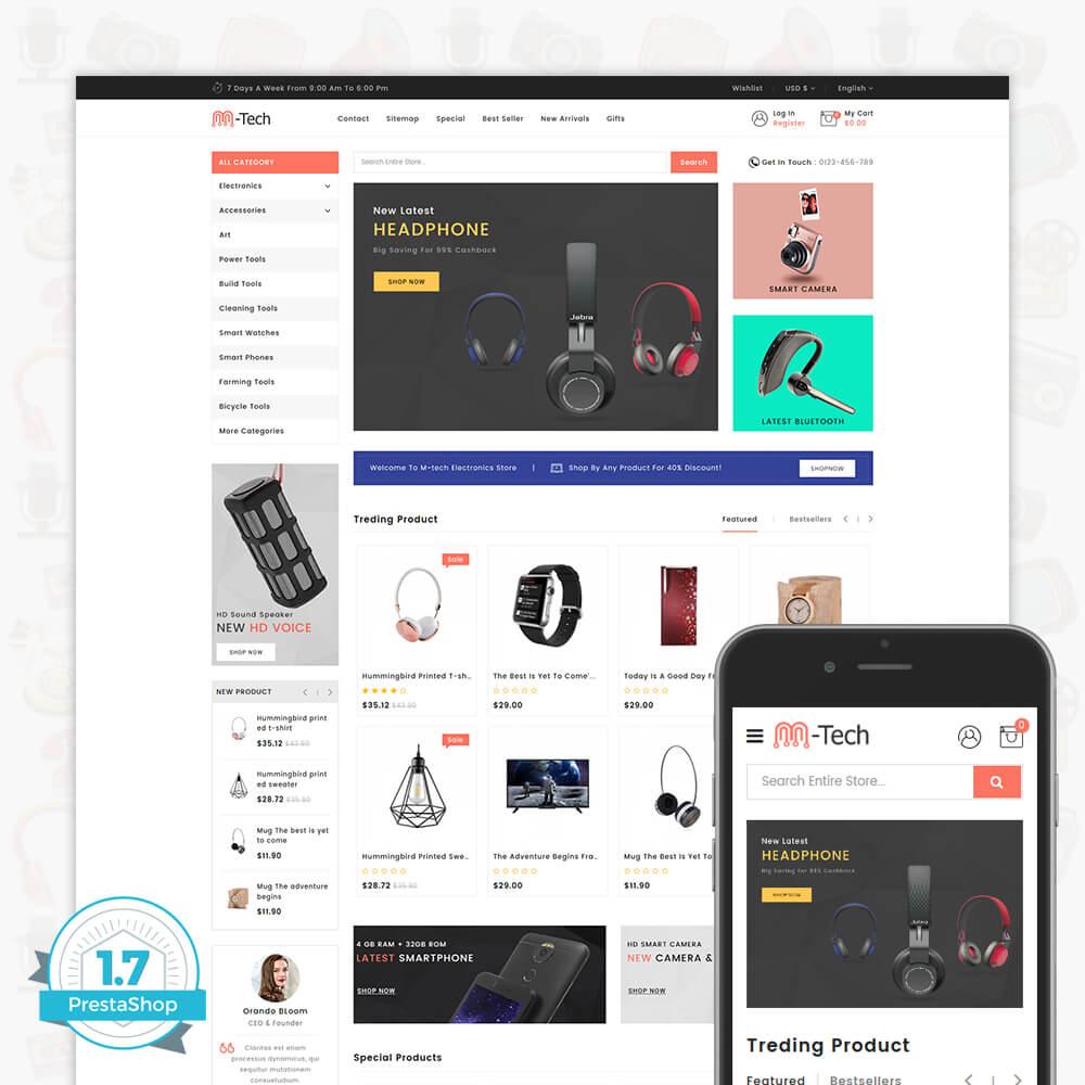 M-Tech- The Online Shopping Template
