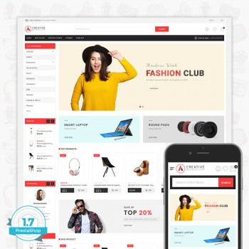 Creative - The Modern PrestaShop Theme