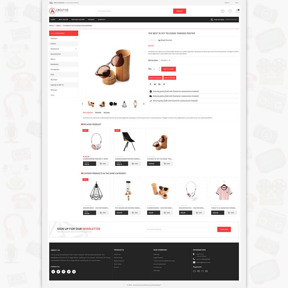 Creative - The Modern Shop Template