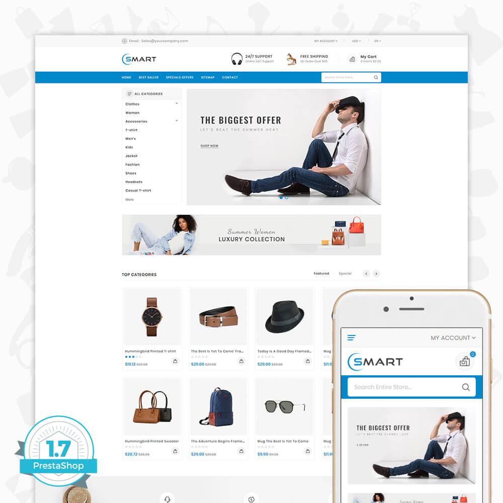 Smart - The Smart Store Template