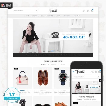Funki - Fashion PrestaShop Theme