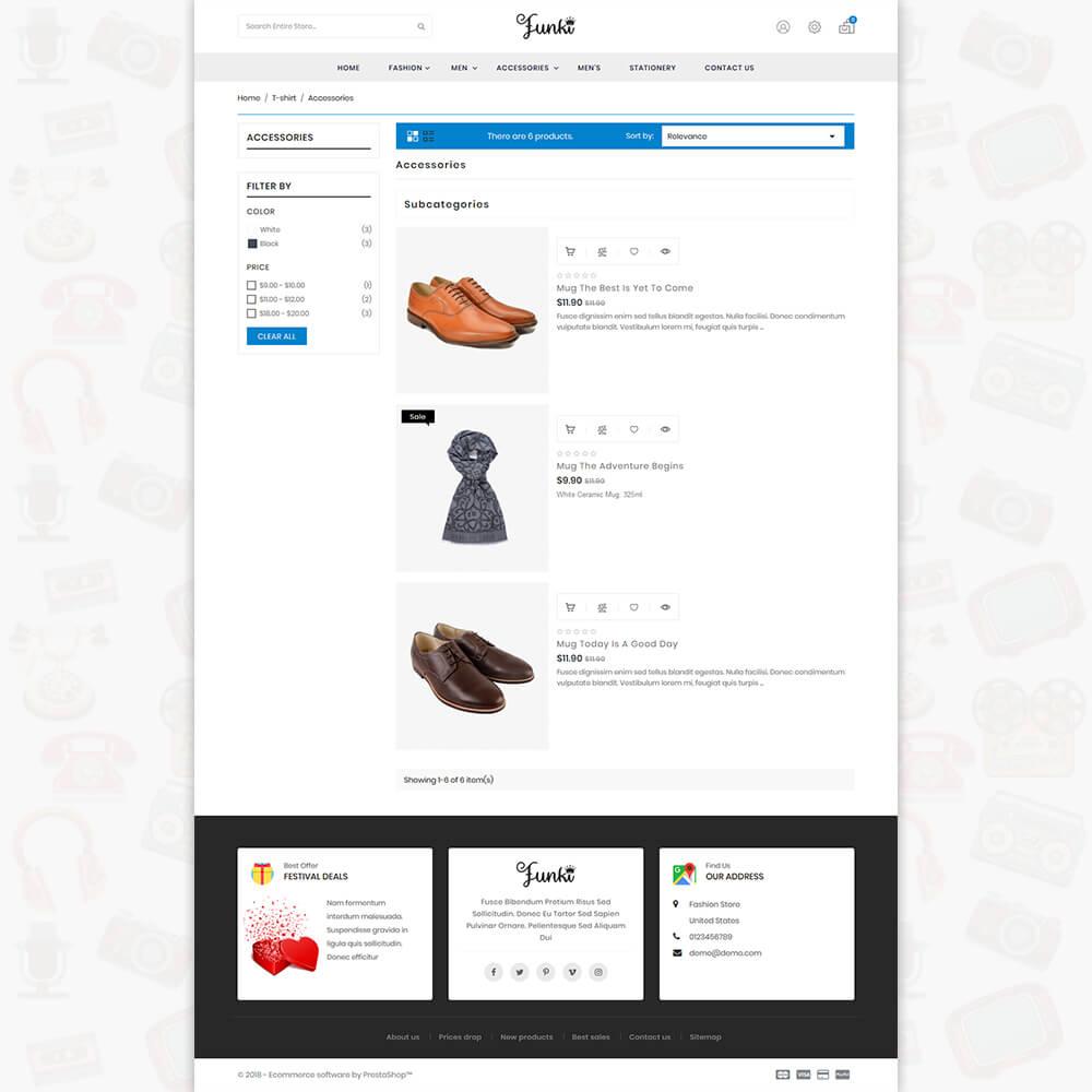 Funki - Fashion Store Template