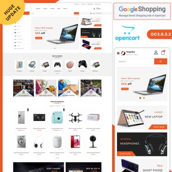 Teqniko - Shopping Opencart 3 Responsive Theme