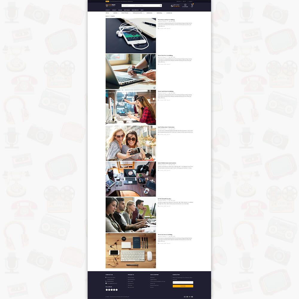 LiveMart - The Mega Ecommerce Store Template