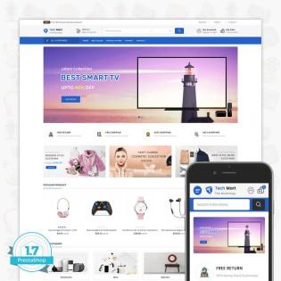 TechMart - The MultiShop PrestaShop Theme