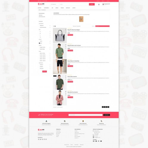 MegaBit - The eCommerce  PrestaShop Theme