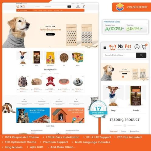 My Cute Pet Store - The Specials Pet Store PrestaShop Theme
