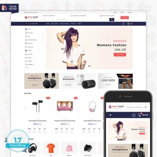 The Prime Shop - The Multi Store PrestaShop Theme