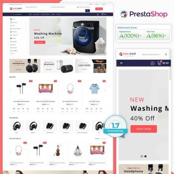 Primeshop - The MultiStore PrestaShop Theme