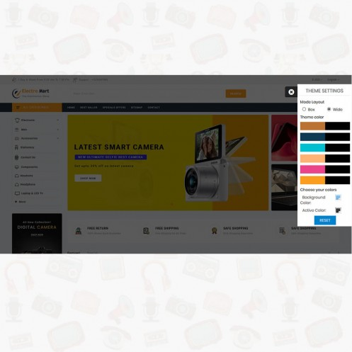 ElectroMart - The Electronics PrestaShop Store Theme