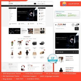 Qik deal - The Mega eCommerce PrestaShop Theme