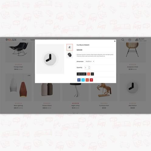 Delux - The Furniture PrestaShop Theme