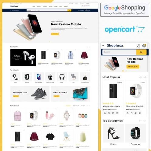 Shopluxa Opencart MultiPurpose Responsive Theme