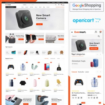 Evermart Opencart MultiPurpose Responsive Theme