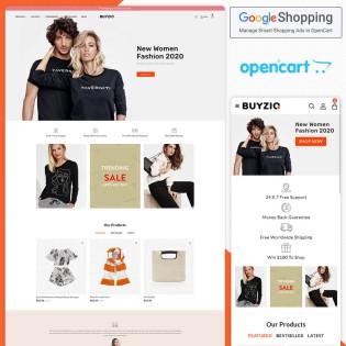Buyzio Opencart MultiPurpose Responsive Theme