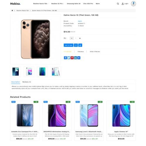 Mobixa - The Electronics Opencart Theme
