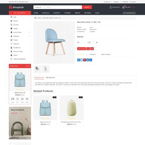 Shoplish Opencart MultiPurpose Responsive Theme