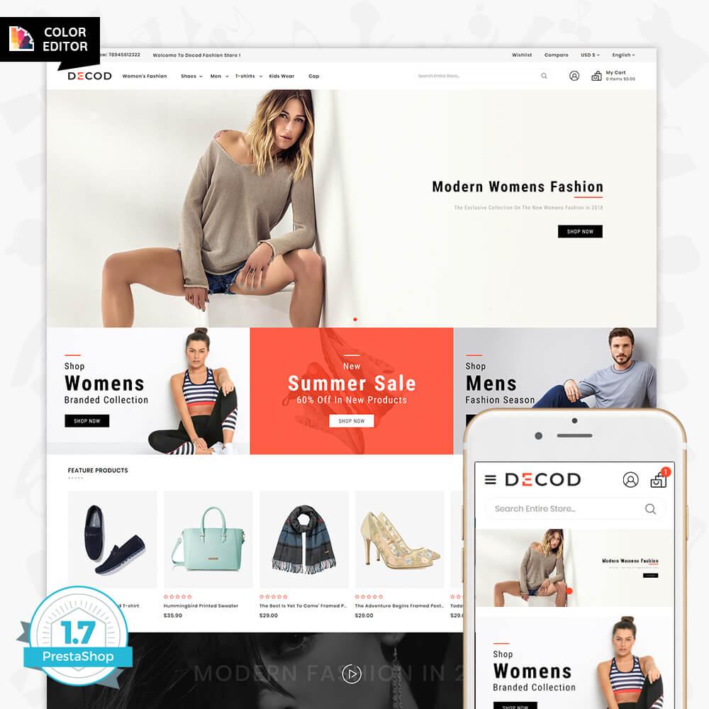 Decod - Fashion Store Template