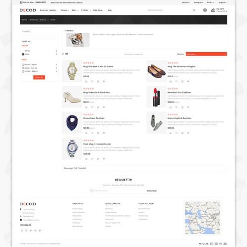 Decod - Fashion PrestaShop Theme