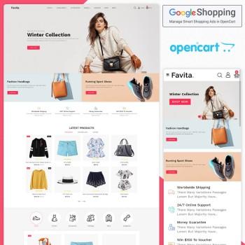 Favita Opencart MultiPurpose Responsive Theme