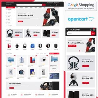 Storetap Opencart MultiPurpose Responsive Theme