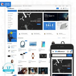 Big Market - The Mega Ecommerce PrestaShop Theme