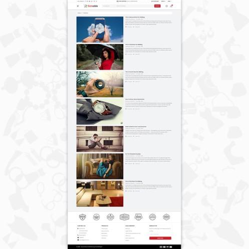 Saleable - Online Shopping Trade PrestaShop Theme