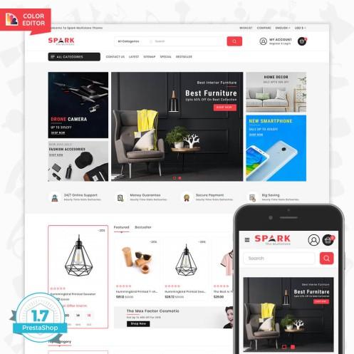 Spark - The Multi Mega Store Template