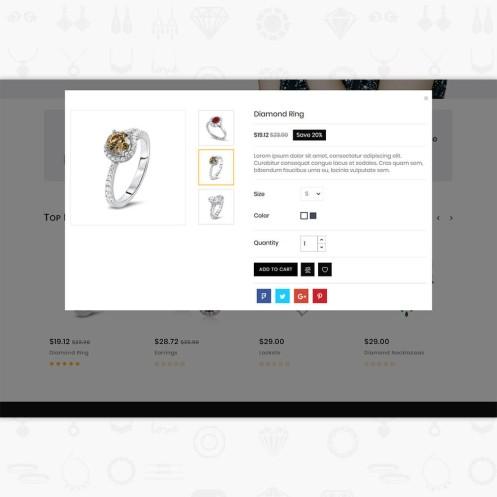 JemsMall - Royal Jewellery PrestaShop Theme