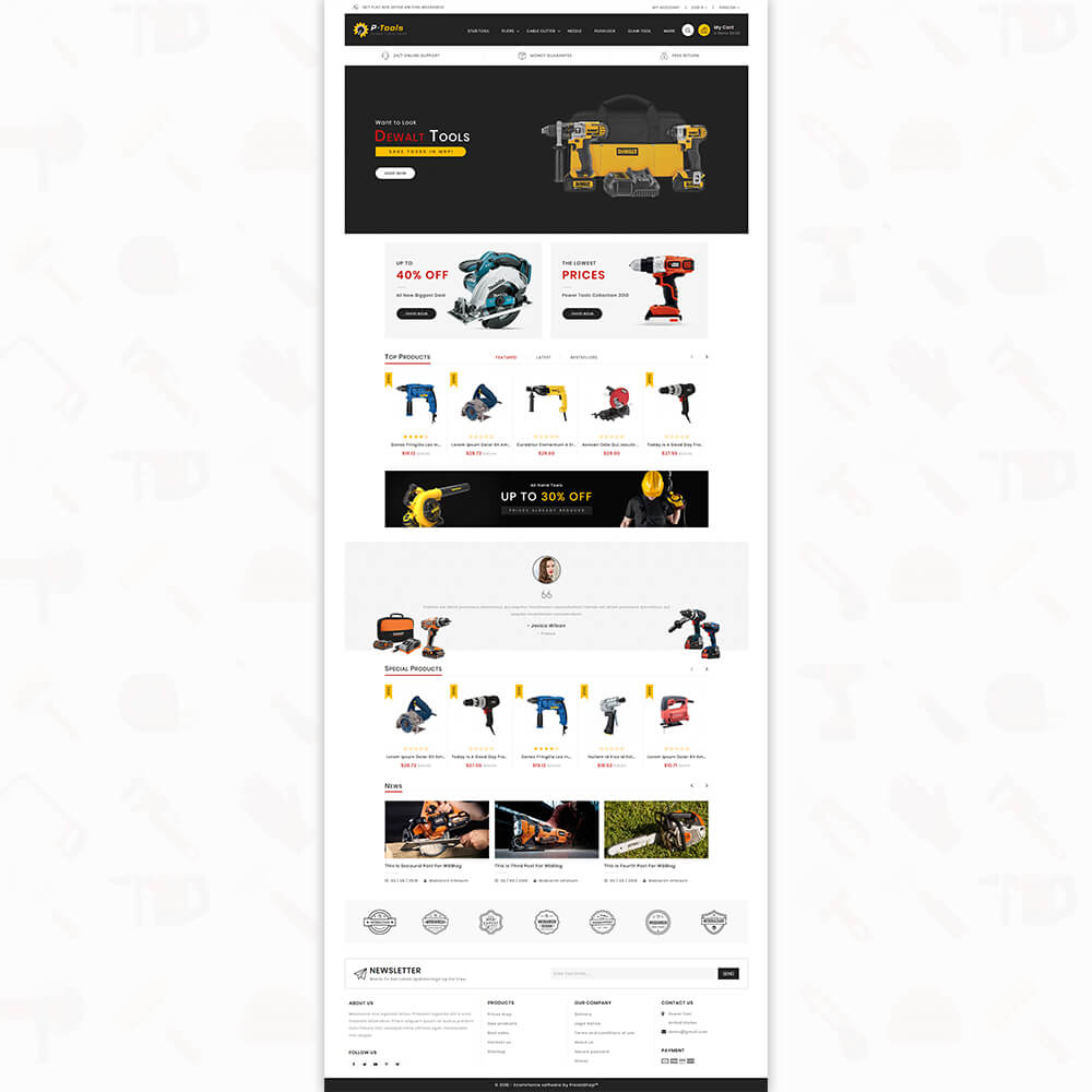P - Tools - Special Power Tools Template