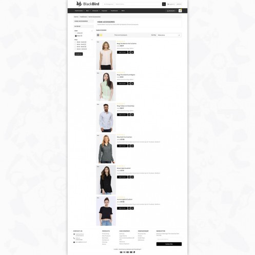 BlackBird - The Fashion PrestaShop Theme