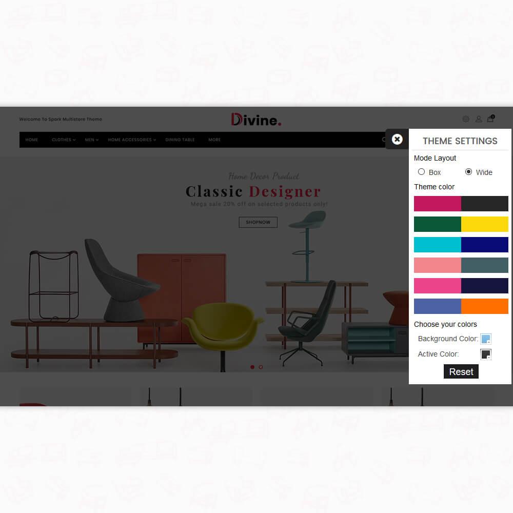 Divine - The Furniture Store Template