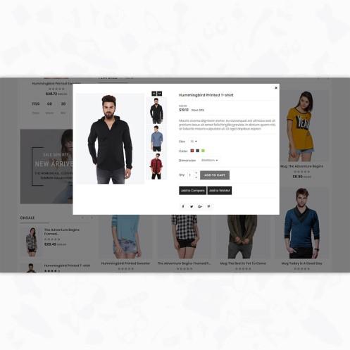 Shayona - The Fashion PrestaShop Theme