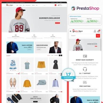 Style Mart- The Fashion PrestaShop Theme