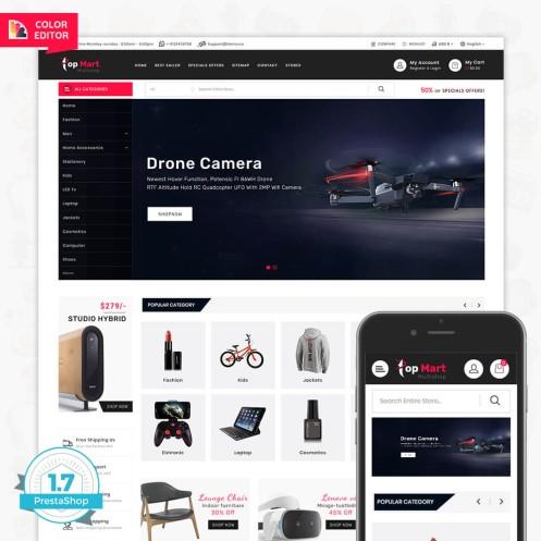 TopMart - Online Shopping Trade Template