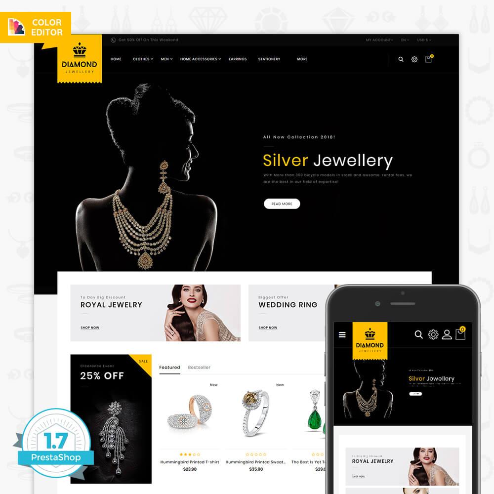 Diamond - Royal Jewellery Shop Template