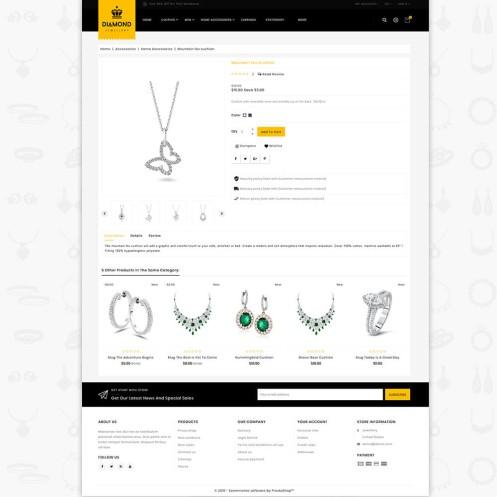Diamond - Royal Jewellery PrestaShop Theme