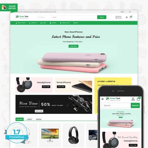 PowerTech - The Electronic Shop Template