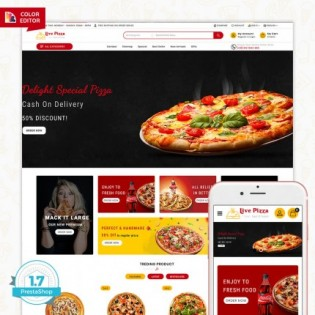 Live Pizza - Fast And Fresh PrestaShop Theme