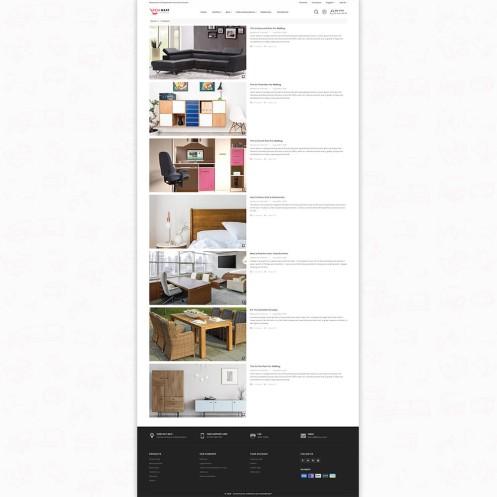 DeskMart - The Furniture PrestaShop Theme