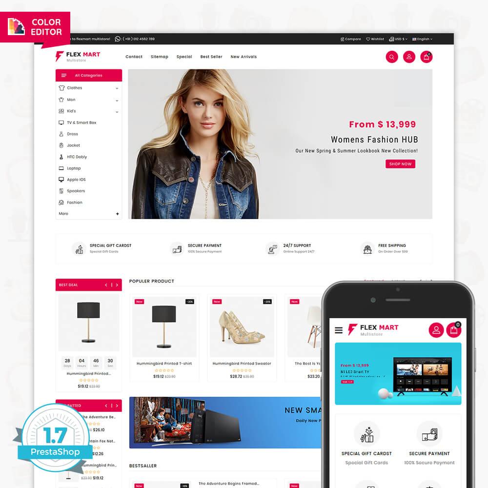 Flex Mart - The Best Multi Store Template