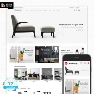Woodberry - The Best Furniture PrestaShop Theme