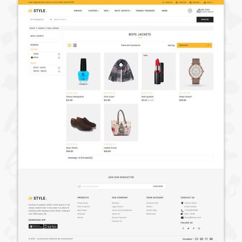 InStyle Shop Store PrestaShop Theme