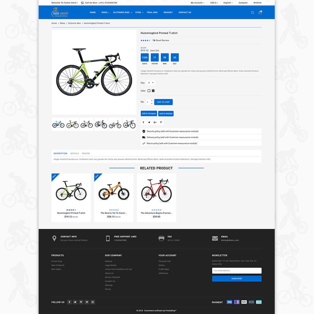 GeoShop Store Template