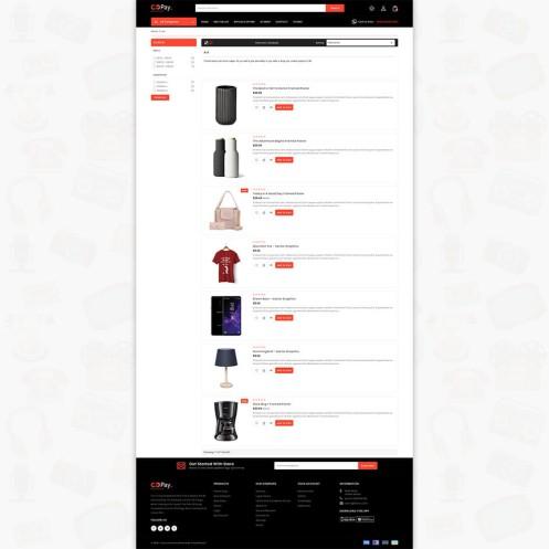 Go-Pay The MultiStore PrestaShop  Theme