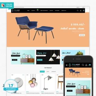 Priowood - The Best Furniture PrestaShop Theme