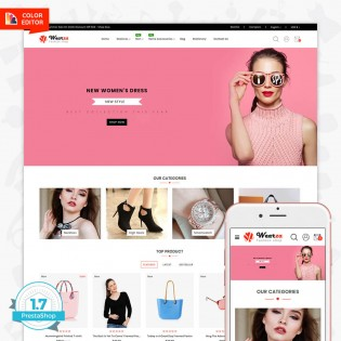 Wearza - The Fashion PrestaShop Theme