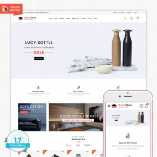 Wood-stock - The Best Furniture PrestaShop Theme
